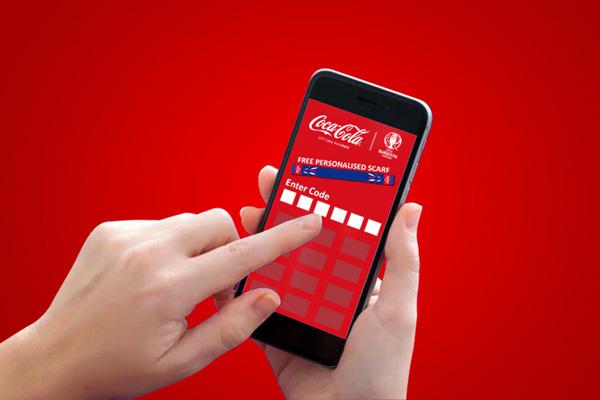 Coca-Cola Personalised Scarf